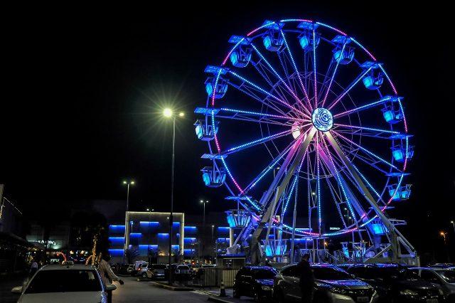 Roda Gigante shopping tamboré barueri