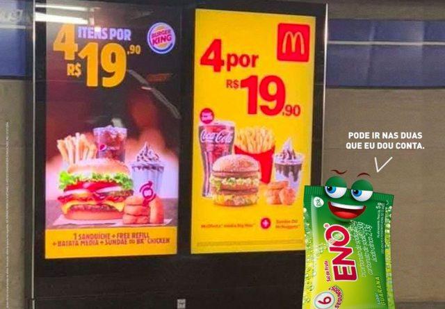 eno mcdonalds burger king
