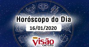 horóscopo do dia 16 01 2020 de hoje