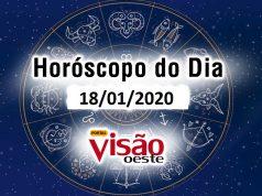 horóscopo do dia 18 01 2020 de hoje