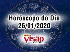 horoscopo do dia 26 01 2020 de hoje