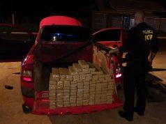 carro roubado em barueri levaa 82 kg de maconha para carapicuíba