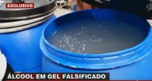 alcool em gel falsificado taboão da serra