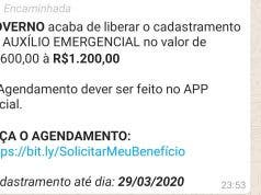 golpe auxílio emergencial
