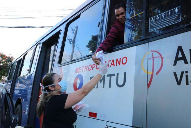 Uso de máscara será obrigatório em ônibus da EMTU, nos trens da CPTM e no Metrô