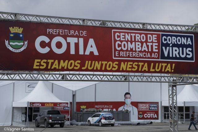 Centro de Combate e Referência ao Coronavírus de Cotia será entregue nesta segunda (6)