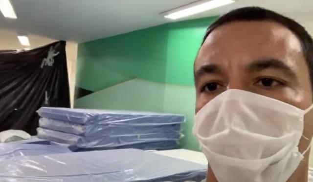 rogério lins osasco coronavírus hospital de campanha