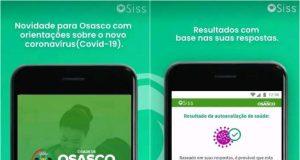 Osasco lança aplicativo que ajuda no diagnóstico do coronavírus