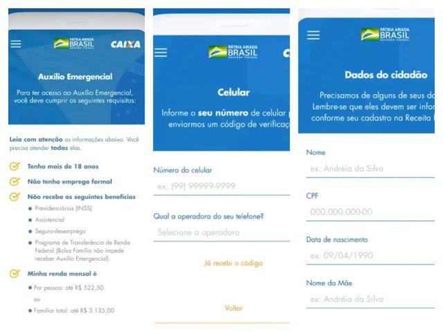aplicativo renda emergencial caixa