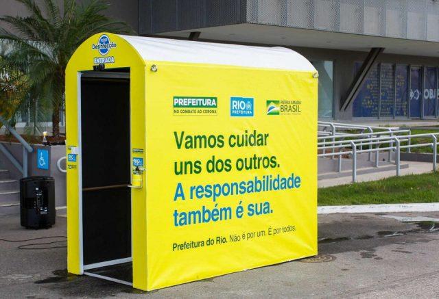 cabine de desinfecção itapevi