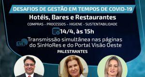 gestão hoteis bares restaurantes sinhores osasco