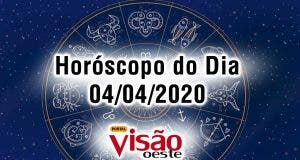horoscopo do dia 04 04 sabado abril 2020