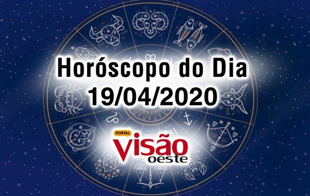 horoscopo do dia 19 04 domingo hoje abril 2020