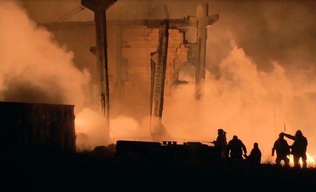 Galpão de materiais recicláveis pega fogo em Itapevi