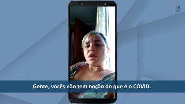 moradora de carapicuiba curada da covid-19 conta como superou a doença