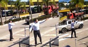 prefeito bate boca quarentena