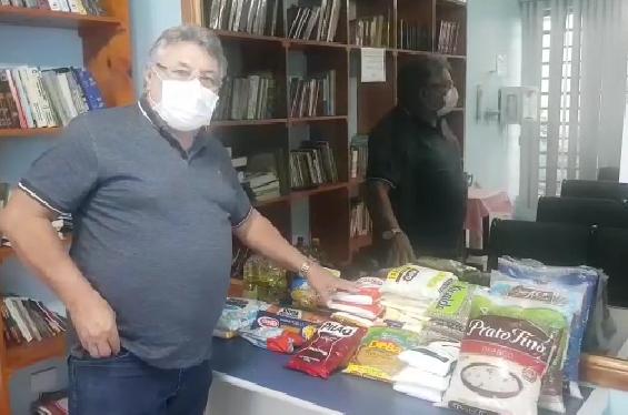 Sinpospetro Osasco arrecada mantimentos para doar a frentistas carentes