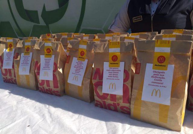 McDonald's doa 60 combos de Big Mac para cooperativa de reciclagem de Barueri
