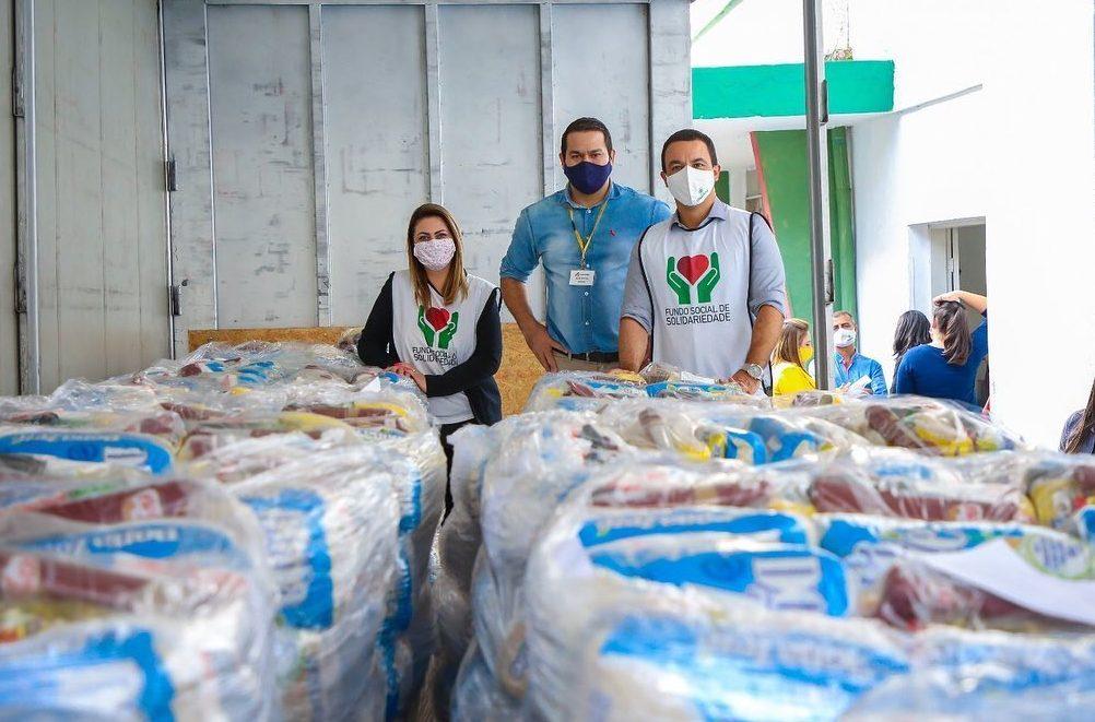 Osasco recebe mais de 1,2 mil cestas básicas do Atacadão
