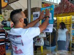 Prefeitura de Cotia fiscaliza e orienta comércios essenciais sobre uso obrigatório de máscara