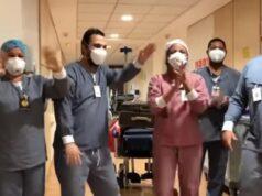 medico em barueri, ex-polegar recebe alta ao som de dá pra mim