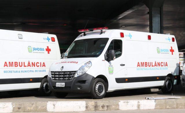 motorista de ambulância Jandira