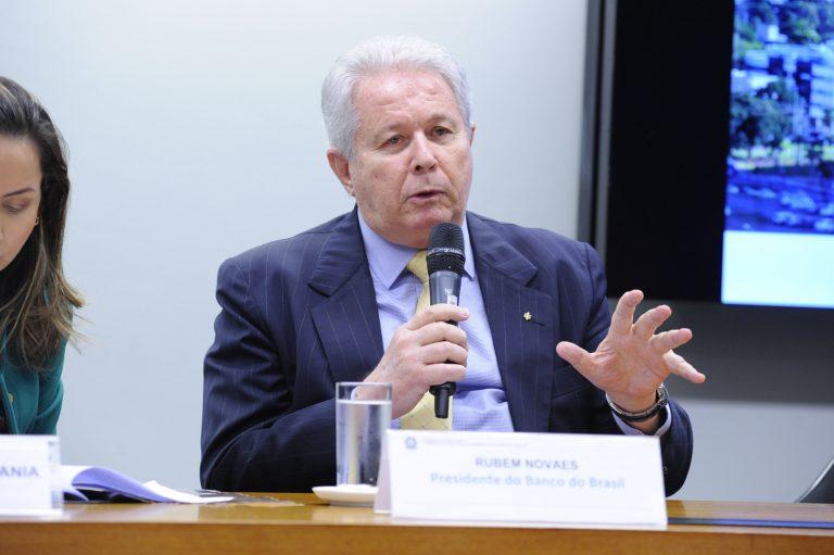 presidente banco do brasil rubem novaes