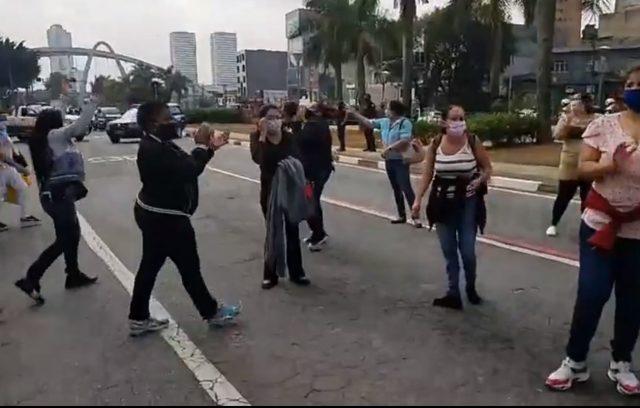 protesto saúde osasco