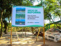 área de lazer Sindona Osasco