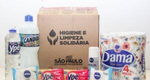 Carapicuíba kit limpeza e higiene solidária