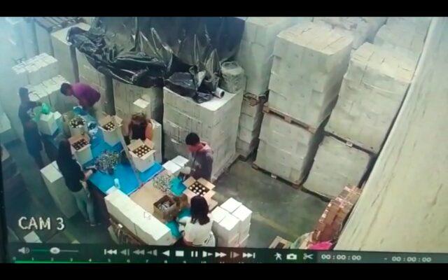 Fabrica Clandestina de azeite em Barueri