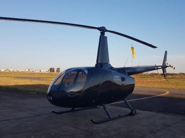 Helicóptero ligado ao tráfico internacional de drogas é apreendido em Carapicuíba