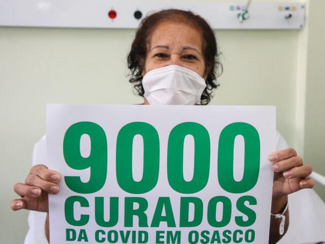 Osasco celebra 9 mil recuperados da covid-19 com alerta