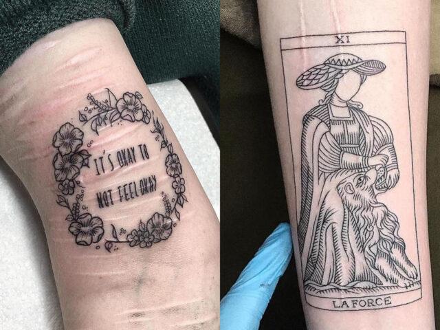 Projeto Cicatrizes_ tatuador vai cobrir marcas de tentativas de suicídio com tatuagens grátis
