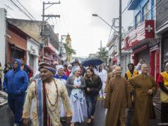 caminhada pela cultura da paz cotia