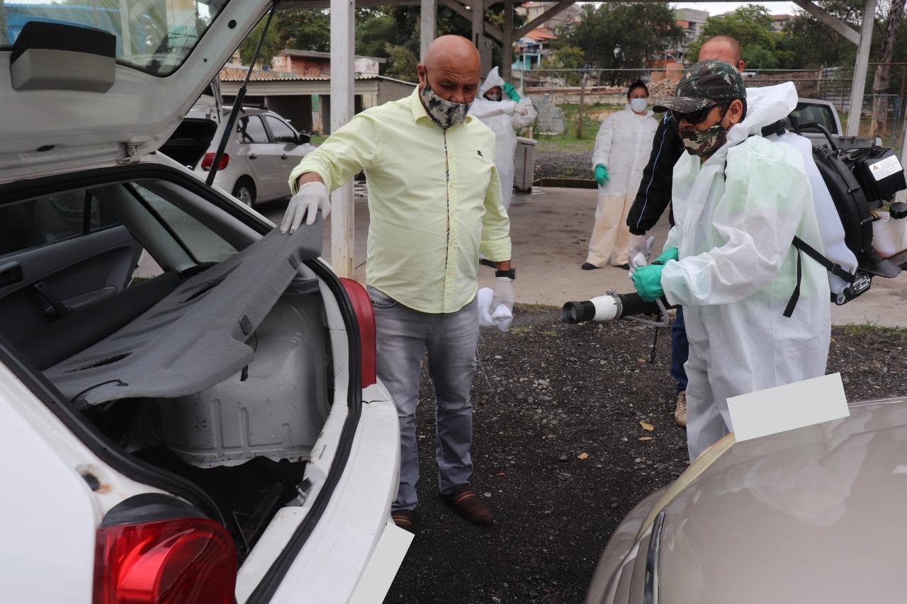 desinfecção veículos osasco