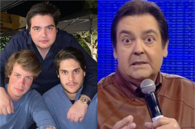 Filho de Faustão ostenta relógio de R$ 230 mil e web reage_ olokinho bicho