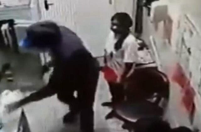 bandidos invadem supermercado em Santana de Parnaíba