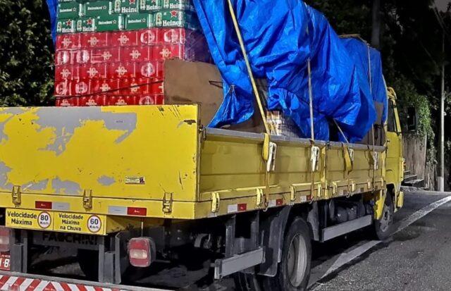 caminhão cerveja osasco