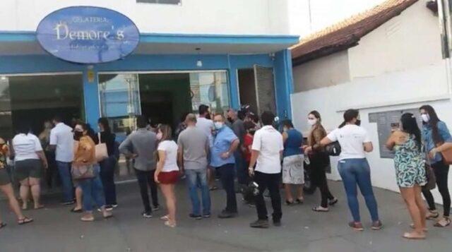 clientes compram 3 mil sorvetes