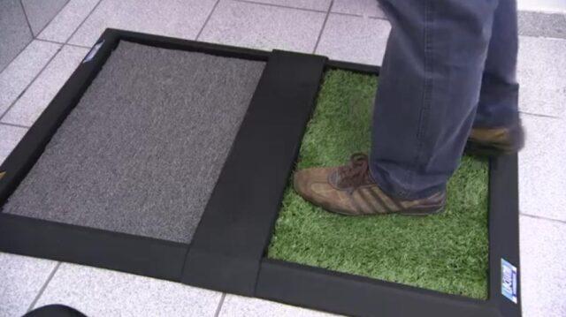 empresa de barueri tapete higieniza sapatos