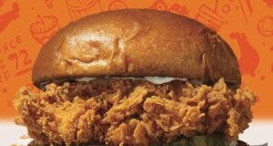 The Sandwich popeyes brasil