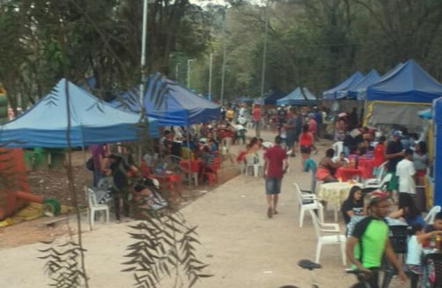 aglomeração parque da aldeia carapicuíba