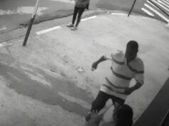 homem agride ex-mulher em Osasco