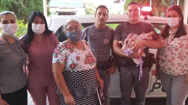 pms salvam bebê carapicuíba