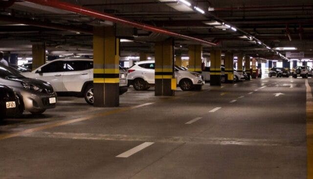 tiquete estacionamento